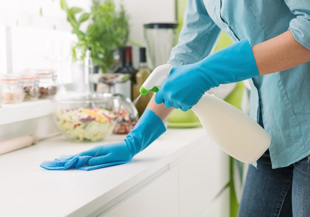 zorginstelling schoonmaak