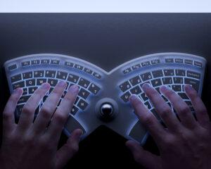 ergonomisch toetsenbord